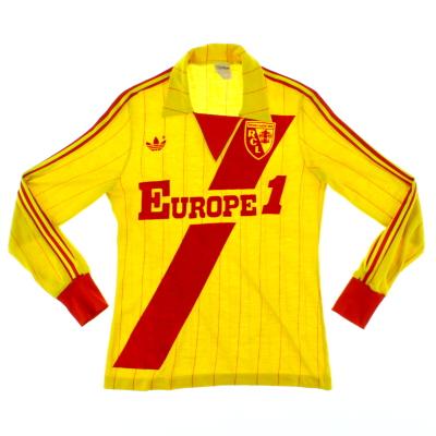 1982-83 Lens Home Shirt L/S S