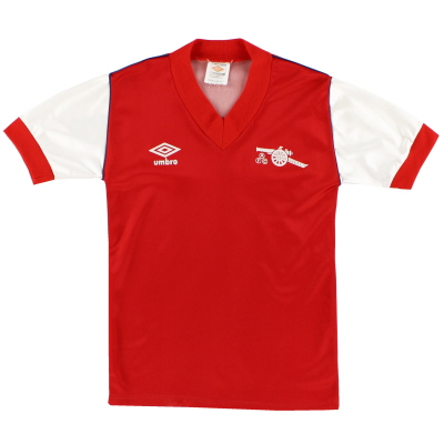 1982-84 Arsenal Home Shirt L.Boys