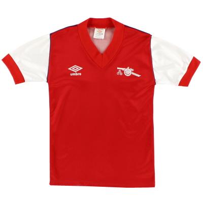 1982-84 Arsenal Home Shirt L.Boys