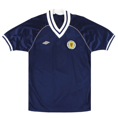 1982-85 Scotland Umbro Home Shirt S