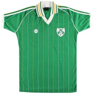 1983-84 Ireland Match Issue Home Shirt #20 L