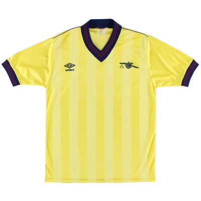 1983-85 Arsenal Away Shirt *Mint* L