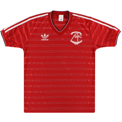 1984-85 Aberdeen adidas 'Double Winners' Home Shirt L