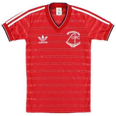 1984-85 Aberdeen 'Double Winners' Home Shirt L.Boys