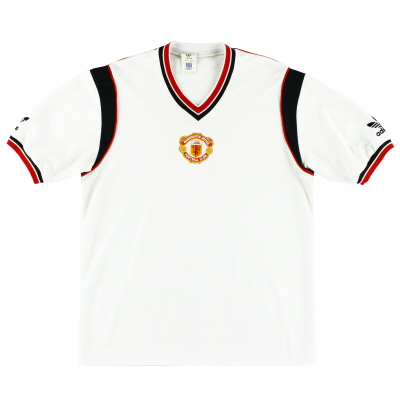 1984-86 Manchester United Away Shirt L