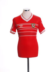 1984-86 Wales Home Shirt S