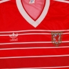 1984-86 Wales Match Issue Home Shirt L/S #16