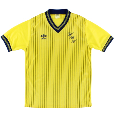 1984-86 West Brom Away Shirt M