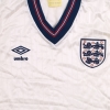 1984-87 England Home Shirt *Mint* S
