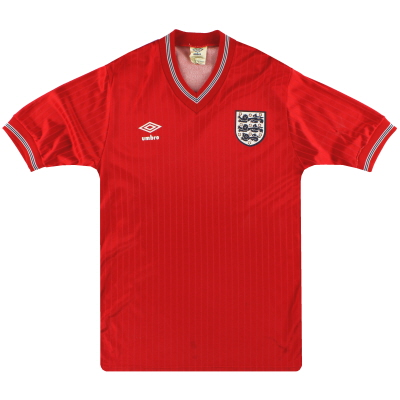 1984-87 England Umbro Away Shirt M