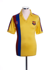 1984-89 Barcelona Away Shirt XL