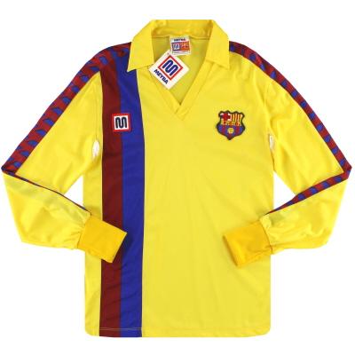 1984-89 Barcelona Meyba Away Shirt *w/tags* L/S XS