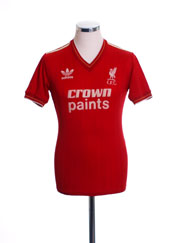 1985-87 Liverpool Home Shirt M