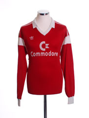 1986-87 Bayern Munich Home Shirt L/S L