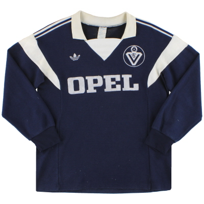 1986-87 Bordeaux adidas Home Shirt L/S M