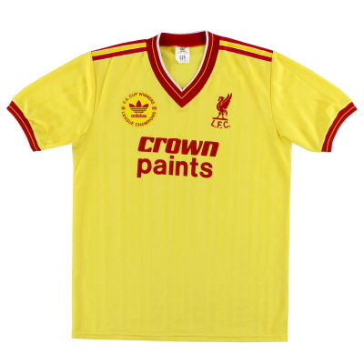 1986-87 Liverpool adidas 'Champions' Third Shirt M