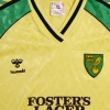 1986-87 Norwich City Home Shirt XL