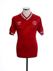 1986-88 Charlton Home Shirt L