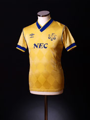 1986-88 Everton Away Shirt S