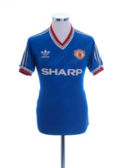 1986-88 Manchester United Third Shirt M
