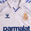 1986-88 Real Madrid Home Shirt L