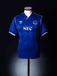 1986-89 Everton Home Shirt S