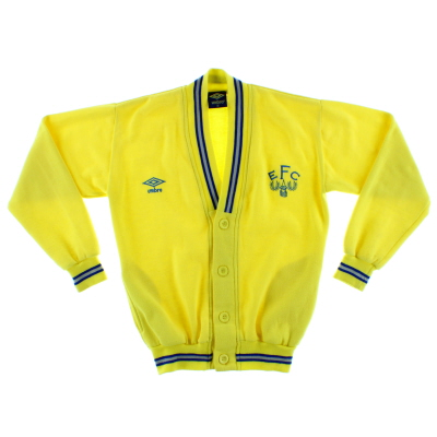 1986-89 Everton Umbro Cardigan XL.Boys