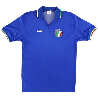 1986-90 Italy Diadora Home Shirt M