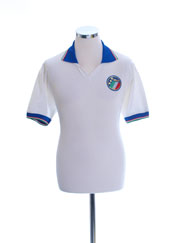 1986-90 Italy Player Issue Away Shirt #11 L