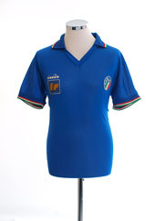 1986-90 Italy Diadora Player Issue Home Shirt *Mint* M