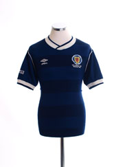1986 Scotland 'World Cup' Home Shirt M