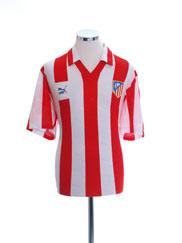1987-88 Atletico Madrid Home Shirt L