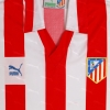 1987-88 Atletico Madrid Home Shirt L