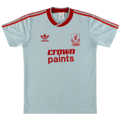 1987-88 Liverpool adidas Away Shirt M