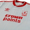 1987-88 Liverpool adidas Away Shirt M