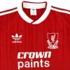 1987-88 Liverpool adidas Home Shirt M