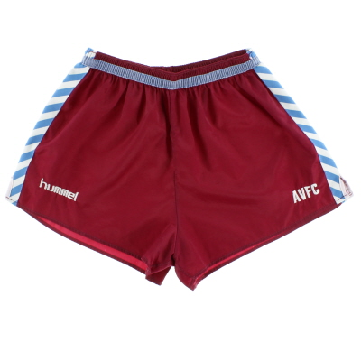 1987-89 Aston Villa Player Issue Away Shorts XL