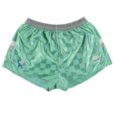 1987-89 Chelsea Umbro Away Shorts L