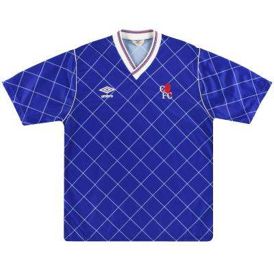 1987-89 Chelsea Umbro Home Shirt M