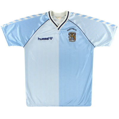 1987-89 Coventry Hummel 'FA Cup Winners' Home Shirt M