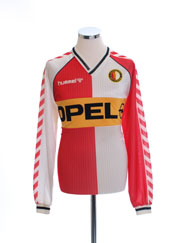 1987-89 Feyenoord Home Shirt L/S XL