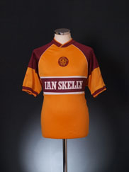 1987-89 Motherwell Home Shirt L