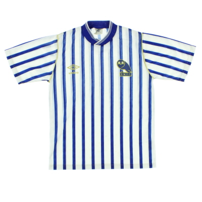 1987-89 Sheffield Wednesday Home Shirt Y
