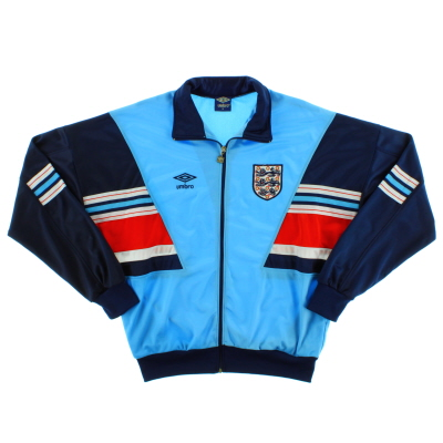 1987-90 England Umbro Track Top *Mint* M
