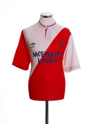 1987-90 Rangers Away Shirt L