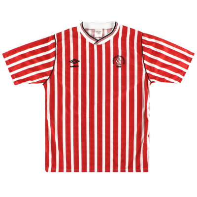 1987-90 Sheffield United Umbro Home Shirt *Mint* M