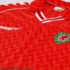 1987-90 Wales Match Issue Home Shirt L/S #17 L