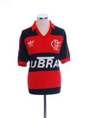 1987-92 Flamengo Home Shirt #10 L