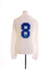 1987 Greece Match Issue Away Shirt L/S #8 XL