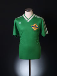 1987 Northern Ireland Home Shirt L